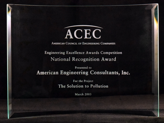 2003 ACEC Natl Recognition Cayce WWTP